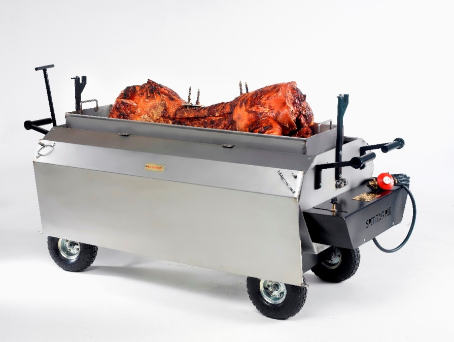 spit roast machine